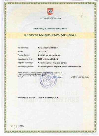 Juridinių asmenų registras